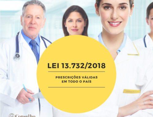 RECEITUÁRIO: Conselho tira dúvidas de farmacêuticos sobre a Lei 13.732/18