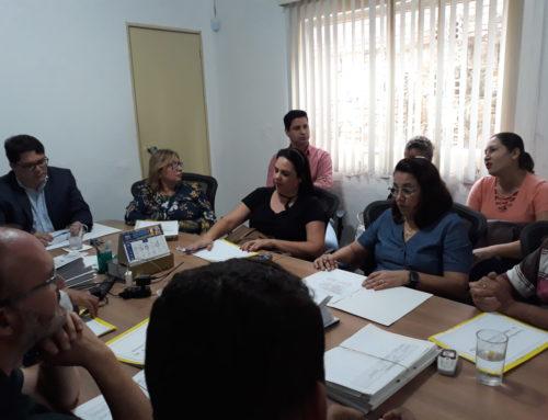 Novos membros das Comissões de Ética I e II, Leandro Firmino da Silva e Regiane Pereira Soares são apresentados na 4ª Plenária de 2019