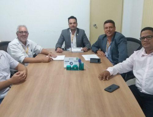 Conselheiros federais reúnem-se com membros da Junta Diretiva do CRF-RO