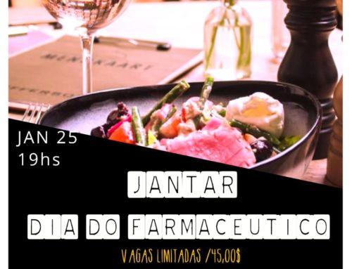 Farmacêuticos de Rondônia comemoram Dia em jantar de confraternização, em Porto Velho