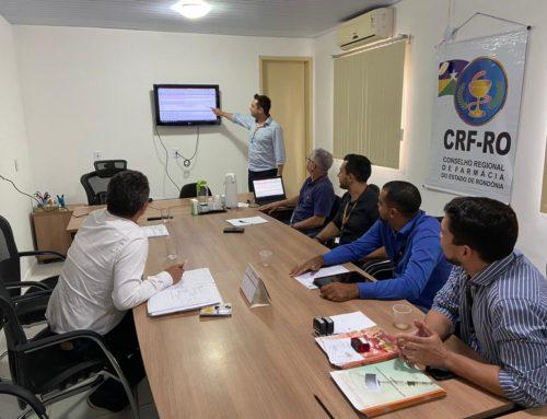 Plano Anual de Fiscalização do CRF-RO é discutido em reunião da Junta Diretiva com com farmacêuticos fiscais