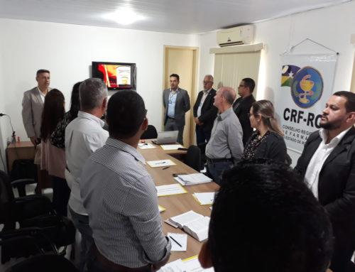 Extensa pauta discutida na primeira Plenária sob o comando da Junta Diretiva do CRF-RO