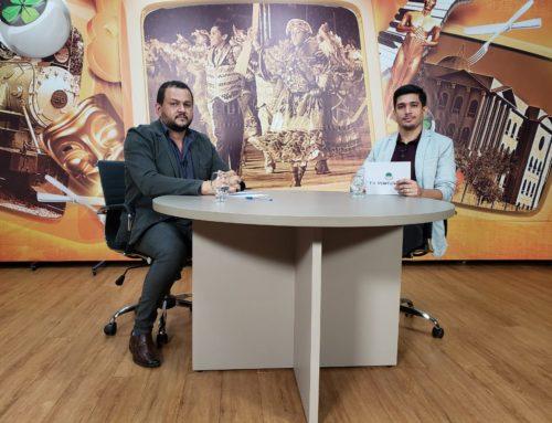 Hoje (18) o Dr. Rogelio Rocha à convite da TV Porto Velho participou do Programa Sala de Opinião com o Apresentador João.
