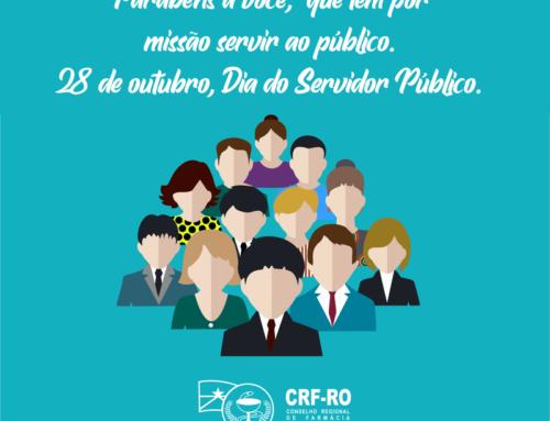 CRF-RO presta homenagem ao servidor público, que exerce papel importante para a sociedade
