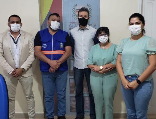 Presidente do CRF trata do fortalecimento da assistência farmacêutica em Guajará-Mirim